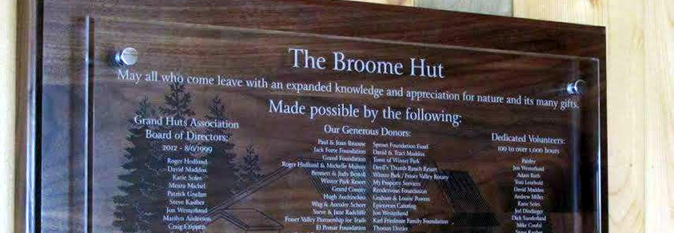 Thank You, Broome Hut Supporters!